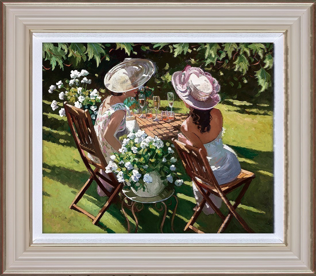 Champagne Celebration by Sherree Valentine Daines - Hand Finished Limited Edition on Canvas sized 23x19 inches. Available from Whitewall Galleries